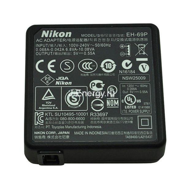 Зарядное устройство Nikon EH-69 (сетевой адаптер)